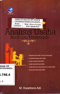 Analisis usaha kecil dan menengah